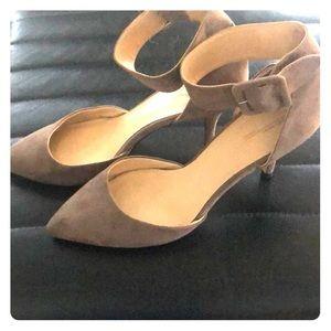 Zara Grey suede heel